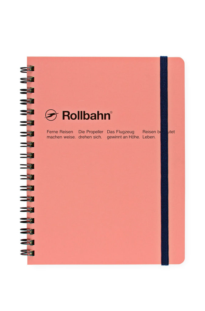 A5 SPIRAL NOTEBOOK (BLUSH PINK)