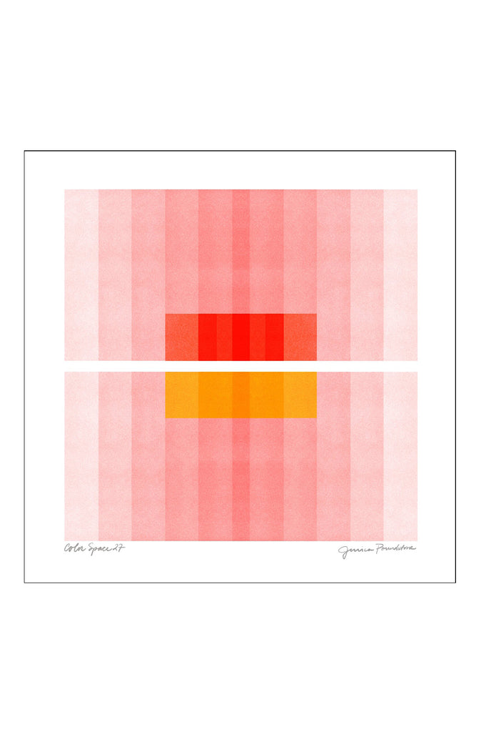 COLOR SPACE 27 : PINK, RED, YELLOW