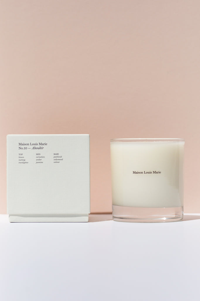 NO.10 CANDLE - ABOUKIR