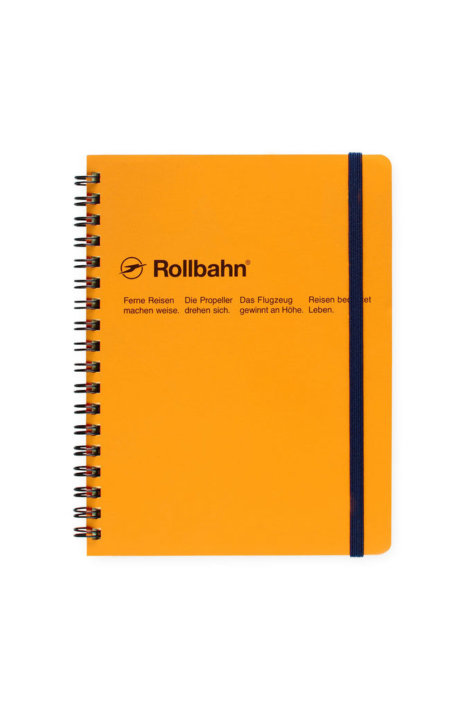 LARGE SPIRAL NOTEBOOK (YELLOW)