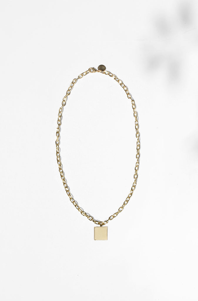 SQUARE CHAIN (GOLD)