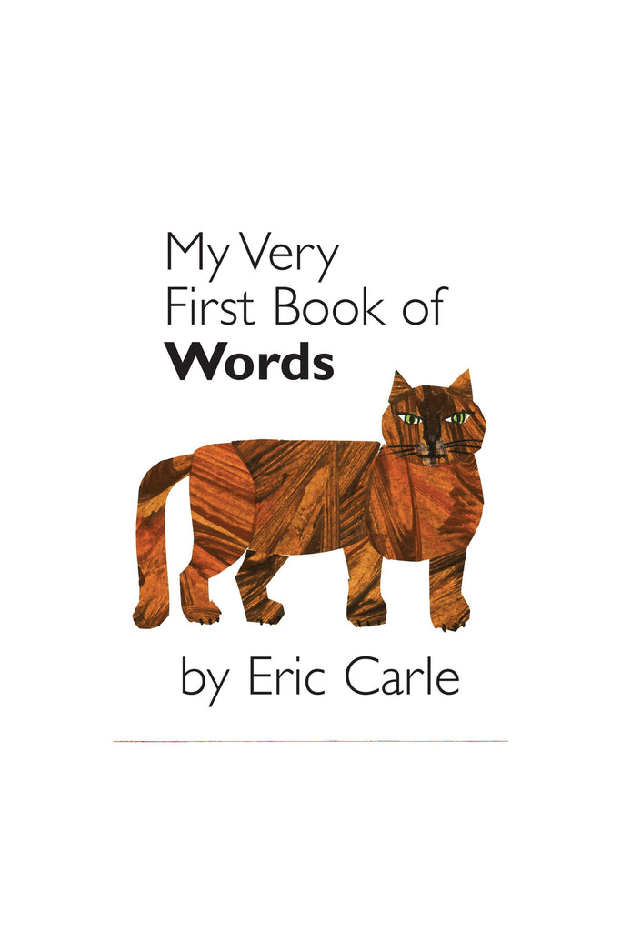 MY VERY FIRST BOOK: WORDS