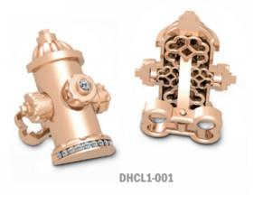 Diamond Hydrant Cuff Links
