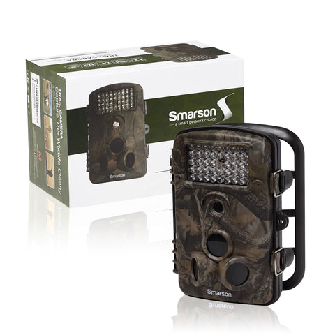 High Resolution LED Trail Camera from Smarssen
