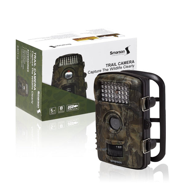 Smarssen High-Resolution LED Trail Camera - Wholesale