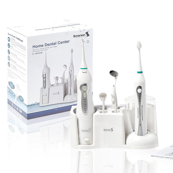 Smarssen Home Dental Center with Flosser, Irrigator, and Toothbrush