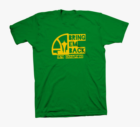 Bring 'Em Back - 100% Ring Spun Green Shirt