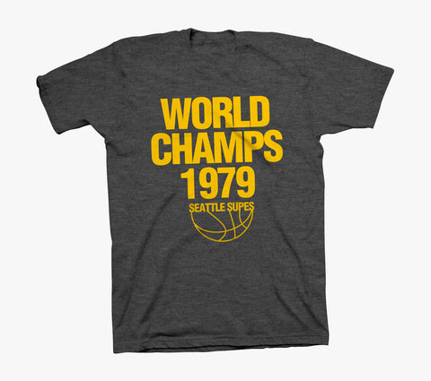 World Champs T-Shirt - Dark Heather Grey
