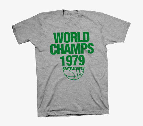 World Champs T-Shirt - Heather Grey
