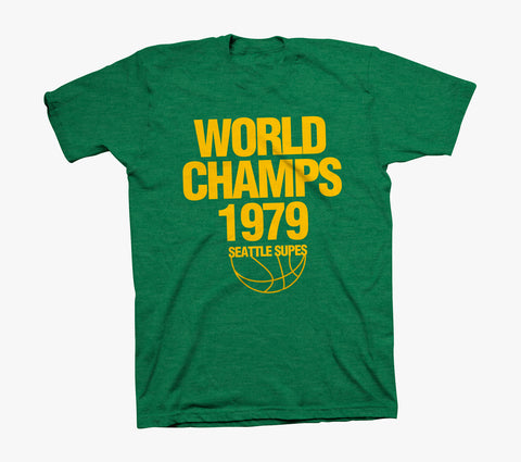 World Champs T-Shirt - Heather Green