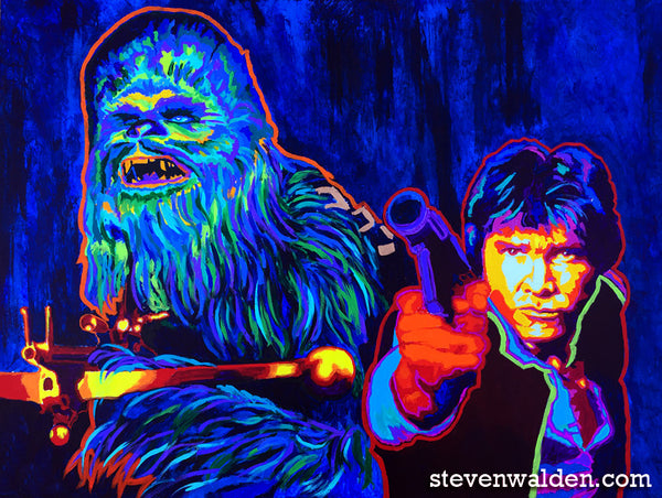 Email Offer Han Solo & Chewbacca (3D)