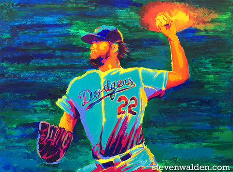 Clayton Kershaw (3D)