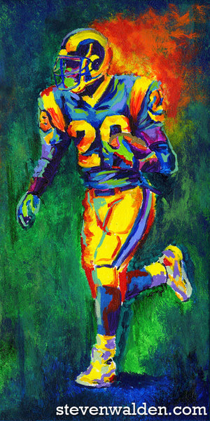 Marshall Faulk, Legends (3D)