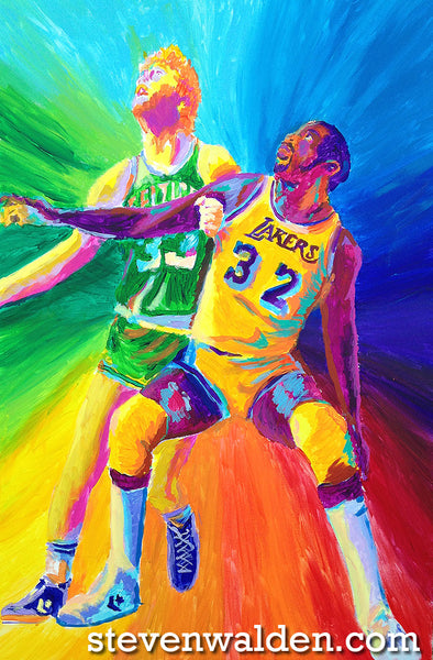 Magic Johnson vs. Larry Bird