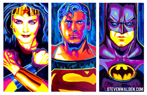 DC Trinity: Wonder Woman, Superman, Batman (3D)