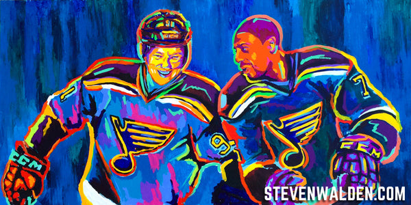 Vladimir Tarasenko & Ryan Reaves (3D)