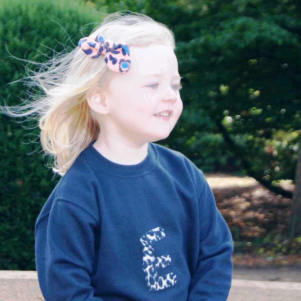Childrens personalised sweatshirt