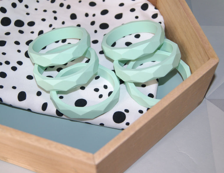 Mint Teething Bracelet