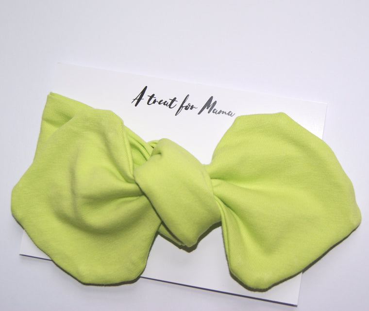 Neon Green Ladies Headband