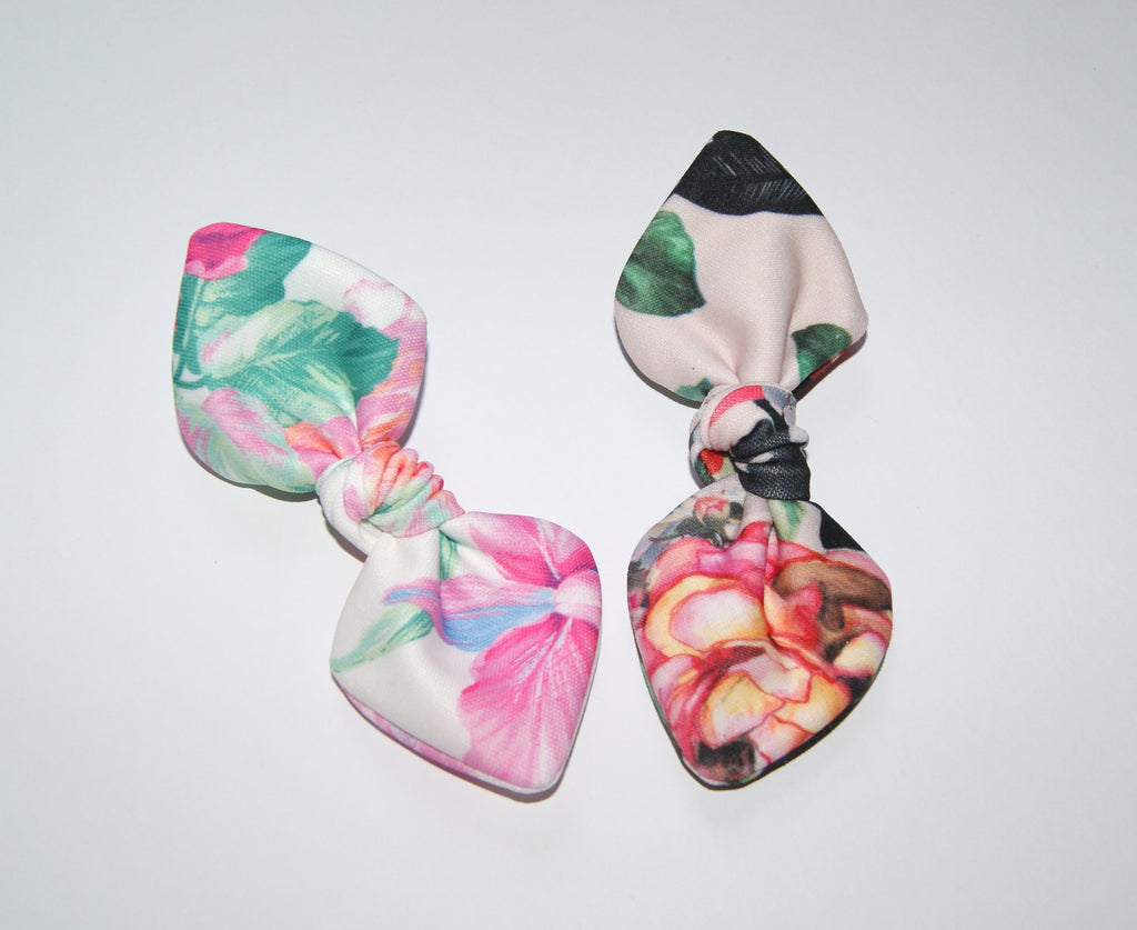 Floral Hair clips for baby and child