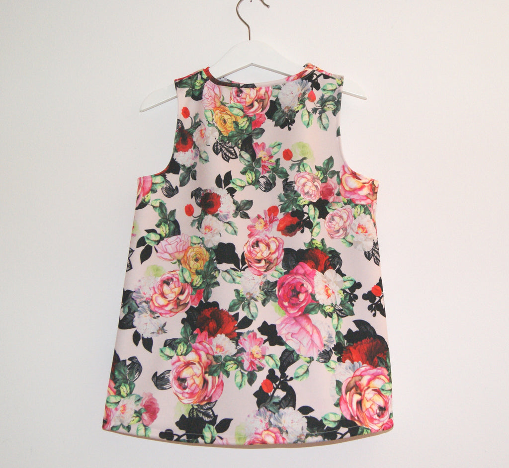 Girls swing dress