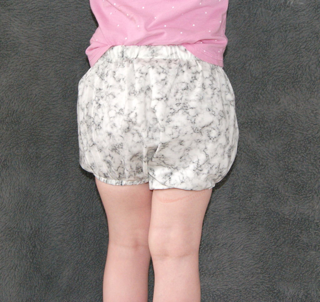 Neutral childrens shorts