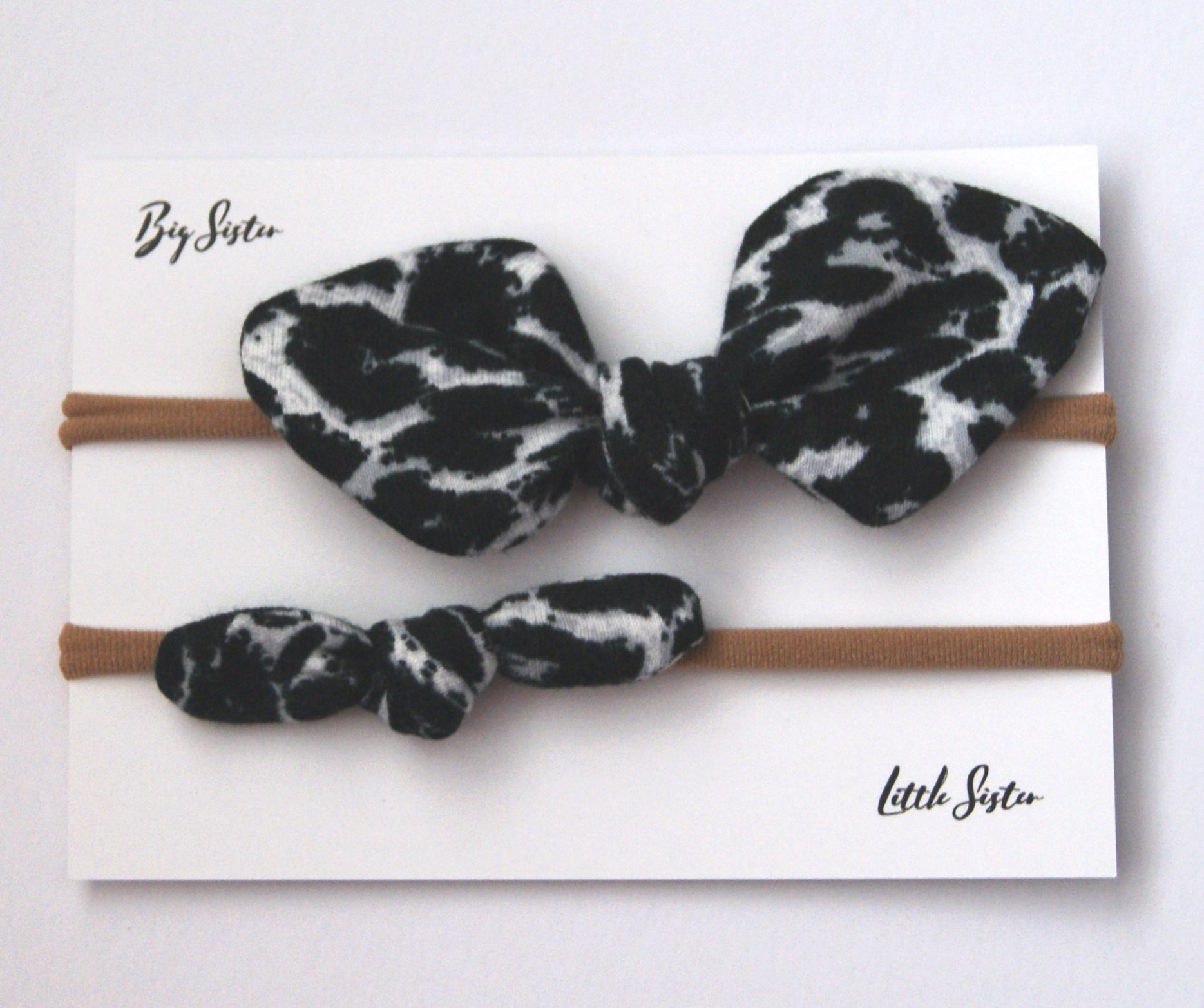 b8e464fb03223 Mini Hair Bow Duo- Animal Print