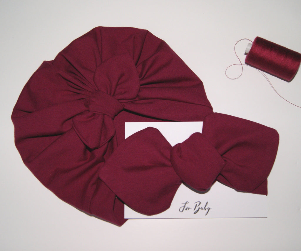 Baby turban with Bow