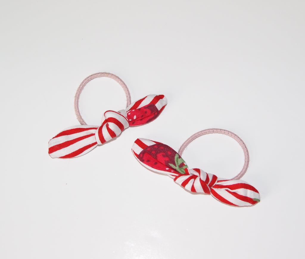 Strawberry Hair ties