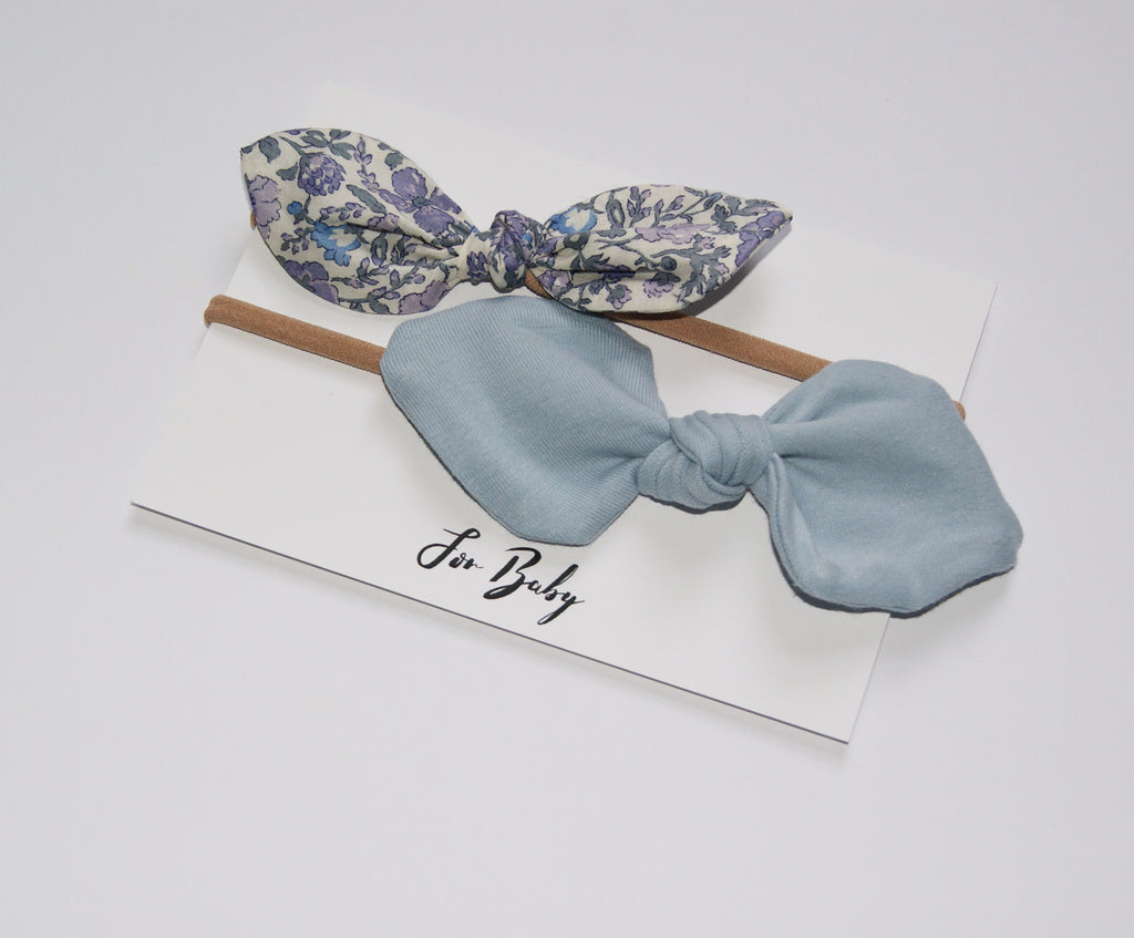 Liberty print hair bows