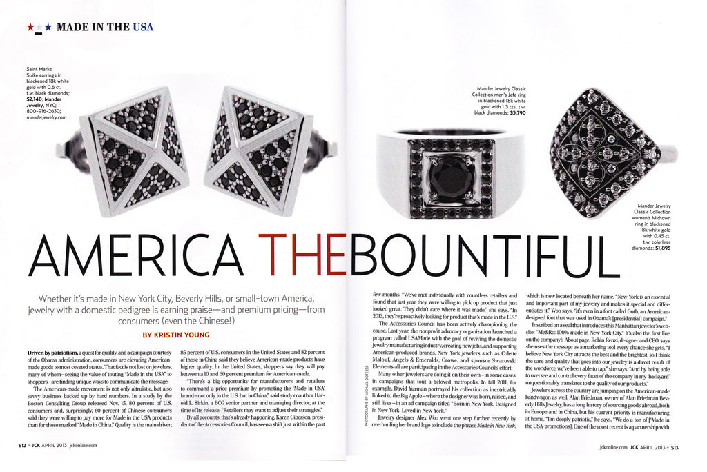 JCK Magazine - America The Bountiful