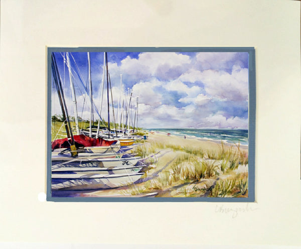 Matted Print  8x10 NORTHEND DELRAY