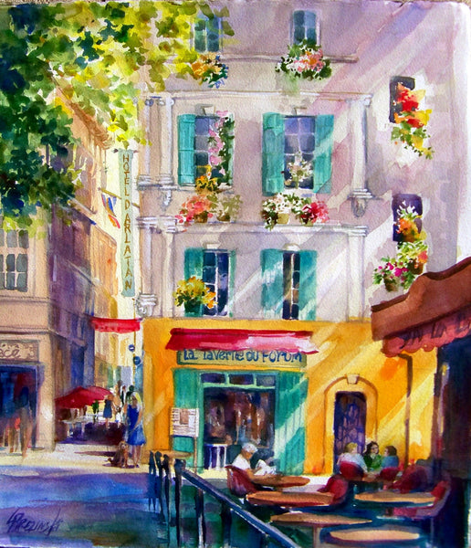 Morning Cafe, Arles