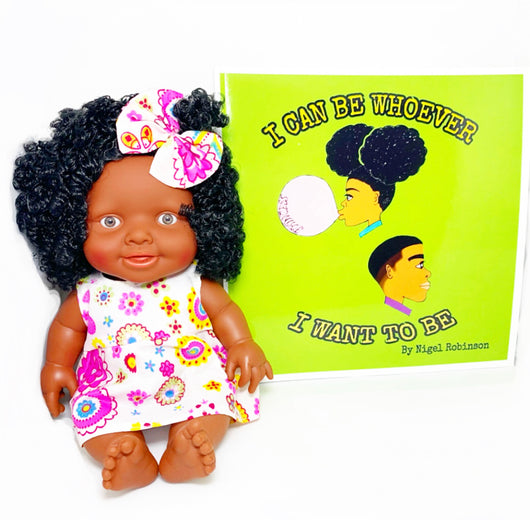 Free Melanated Doll with Educational Book