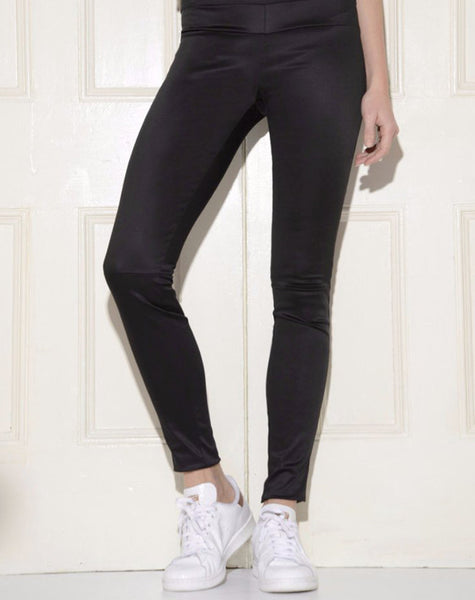 Cotton Satin Leggings