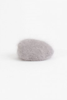 Angora Knit Covered Rock (Grey)