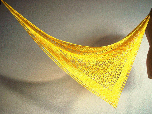 Summer Knitting Series Week 2:  Lace Shawls