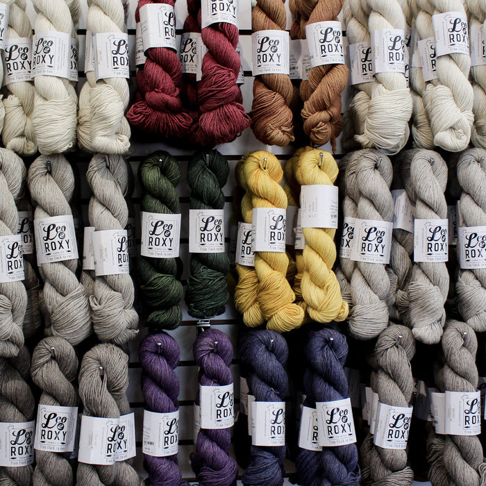 Leo & Roxy Yarn Co. Trunk Show