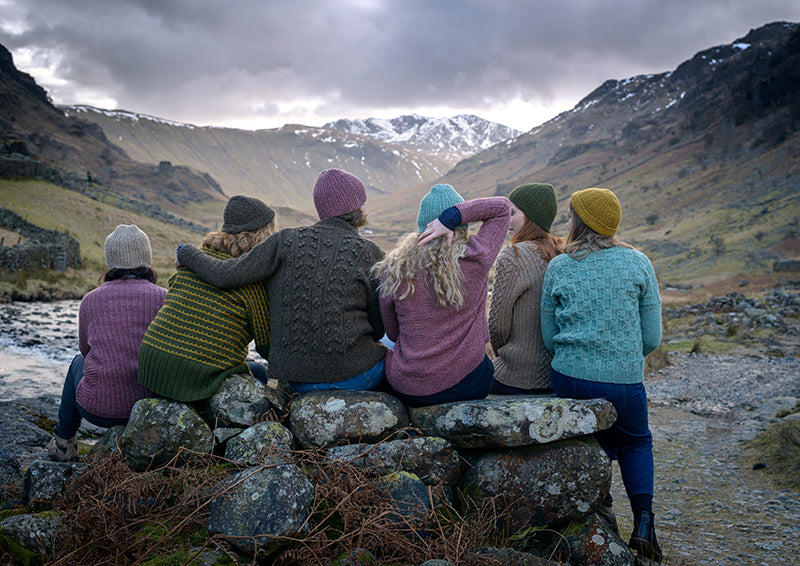 Borrowdale Knit Along with the Fibre Co. Lore
