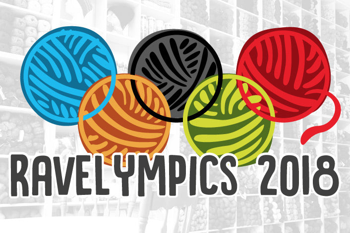 Cast-on for Ravelympics 2018 UPDATED WITH PATTERN IDEAS