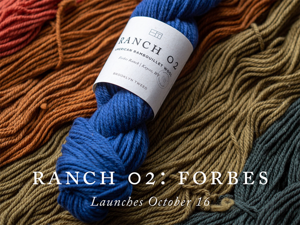 Ranch 02: Forbes Single Batch Yarn Release
