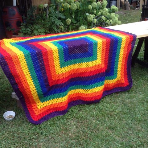 Crochet Blanket Square