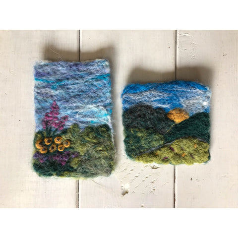 Felted Postcard Landscapes - February 26