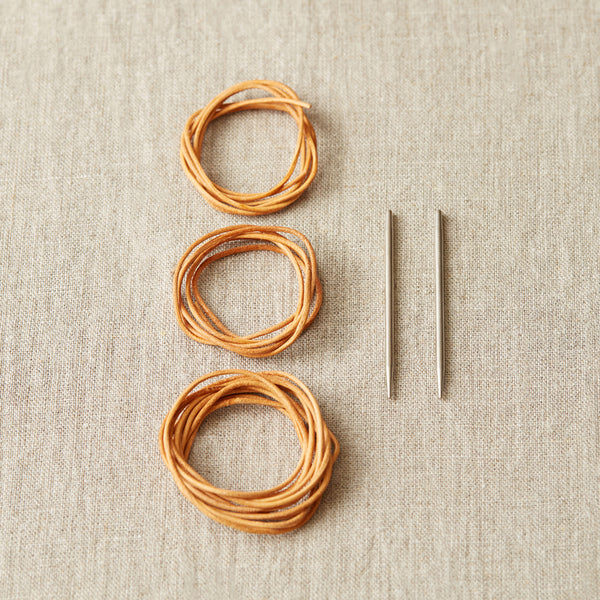 Leather Cord & Needles Stitch Holder Kit