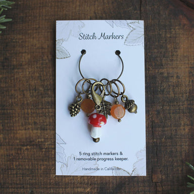 Woodland Stitch Markers