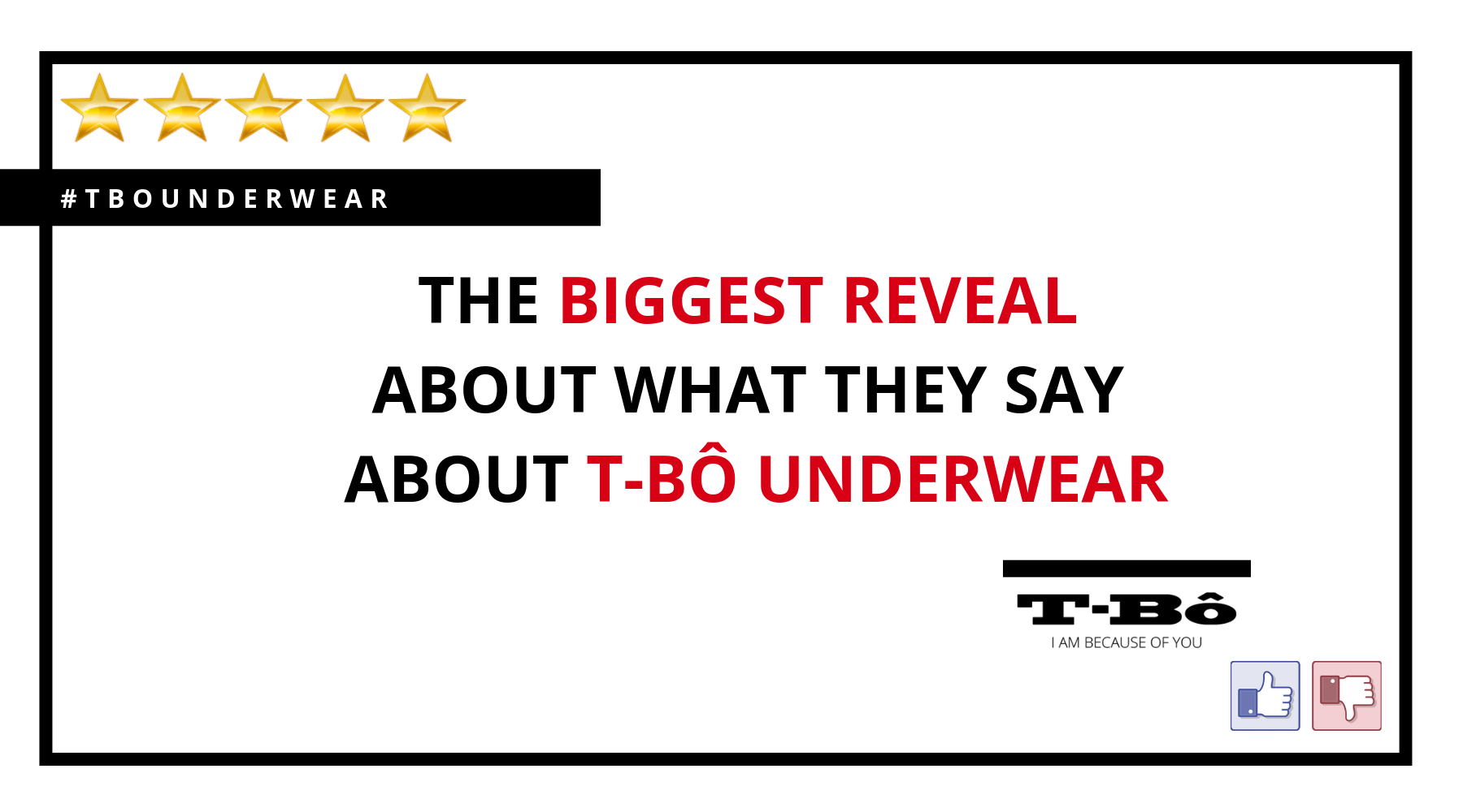 The BIGGEST reveal about what they say about T-Bô Underwear