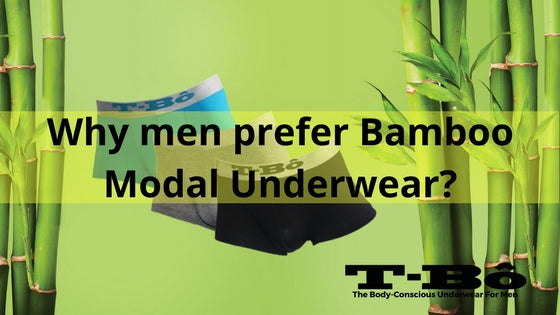 <center>Why men prefer Bamboo Modal Underwear?</center>