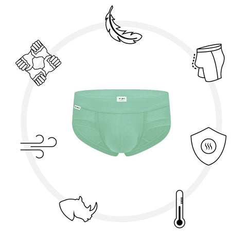 The Mint Green Brief -  Limited Edition
