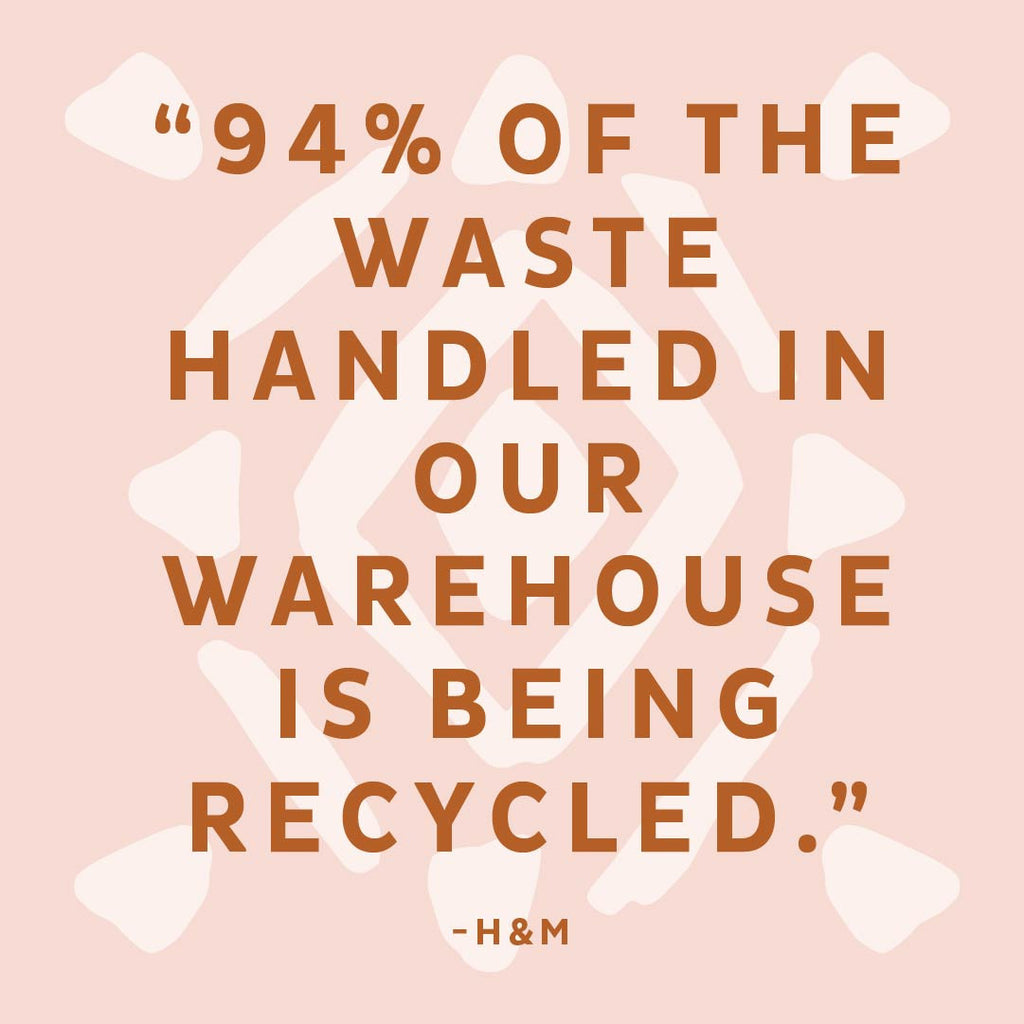 Recycle Your Clothes with H&M