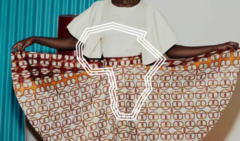 Africa Textile Map